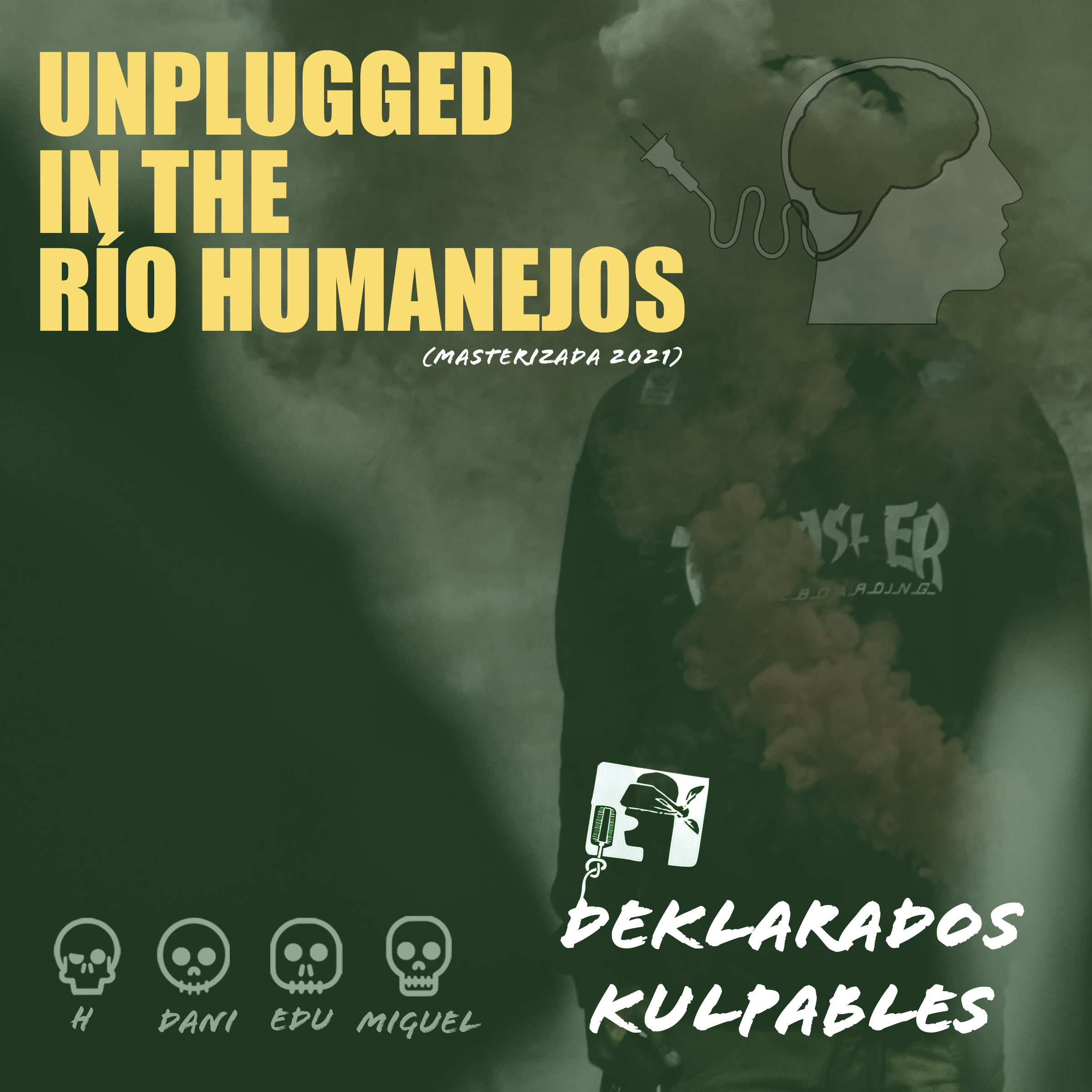 POrtada del disco Unplugged in the Río Humanejos